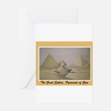 Cool Sphinx Greeting Cards (Pk of 10)