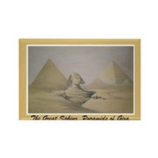 Cute Pyramids giza Rectangle Magnet