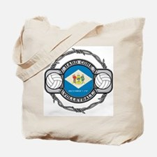 Delaware Volleyball Tote Bag