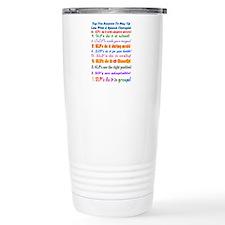 Cool Speech language pathologist Travel Mug