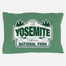 Yosemite Green Sign Pillow Case