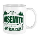 Yosemite Green Sign Mug