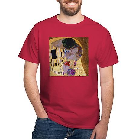 Kiss Dark Red T-Shirt (cropped)