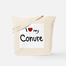 Conure Love Tote Bag