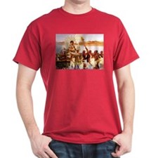 Finding of Moses Dark Red T-Shirt