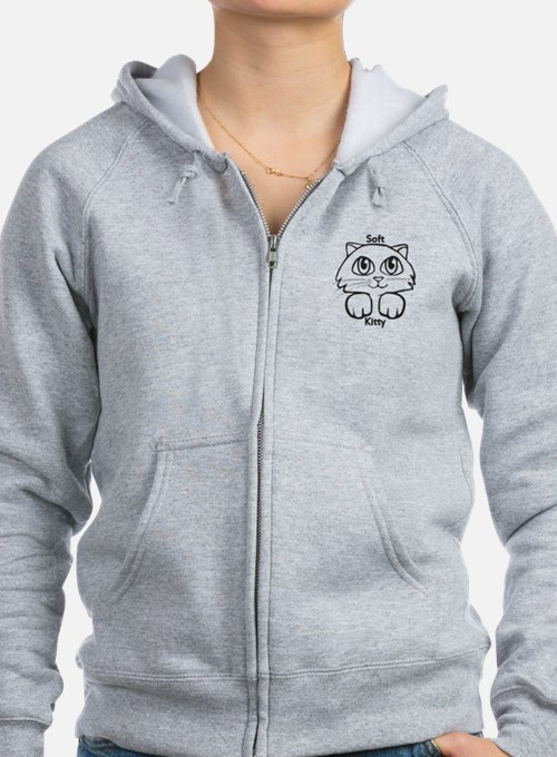 Soft Kitty Zip Hoody
