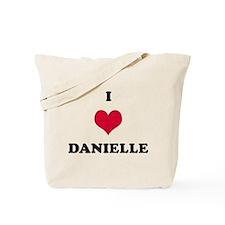 I Love Danielle Tote Bag