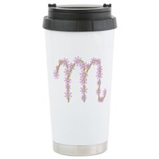 Monogram M Travel Mug