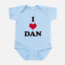 I Love Dan Infant Bodysuit