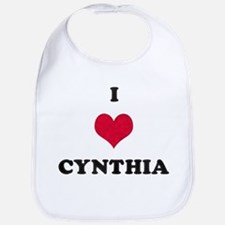 I Love Cynthia Bib