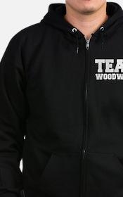 TEAM WOODWARD Zip Hoodie (dark)
