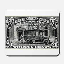 1925 United States Special Delivery Stamp Mousepad