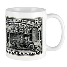 1925 United States Special Delivery Stamp Mug