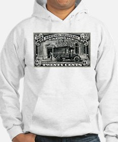 1925 United States Special Delivery Stamp Hoodie