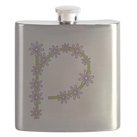 Monogram P Flask