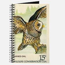 1978 United States Barred Owl Postage Stamp Journa