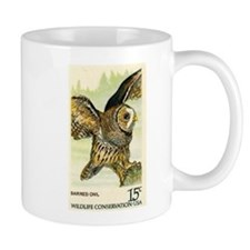 1978 United States Barred Owl Postage Stamp Mug