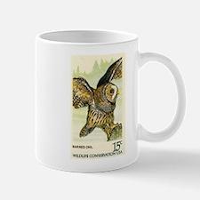 1978 United States Barred Owl Postage Stamp Mug
