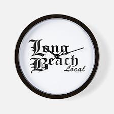 Long Beach Local Wall Clock