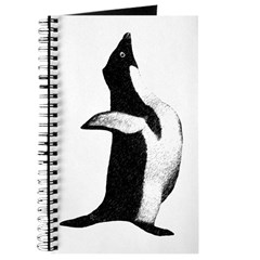 Penguin Poser Art Journal
