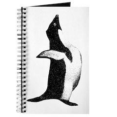 Penguin Poser Art Journal