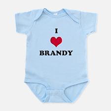 I Love Brandy Onesie