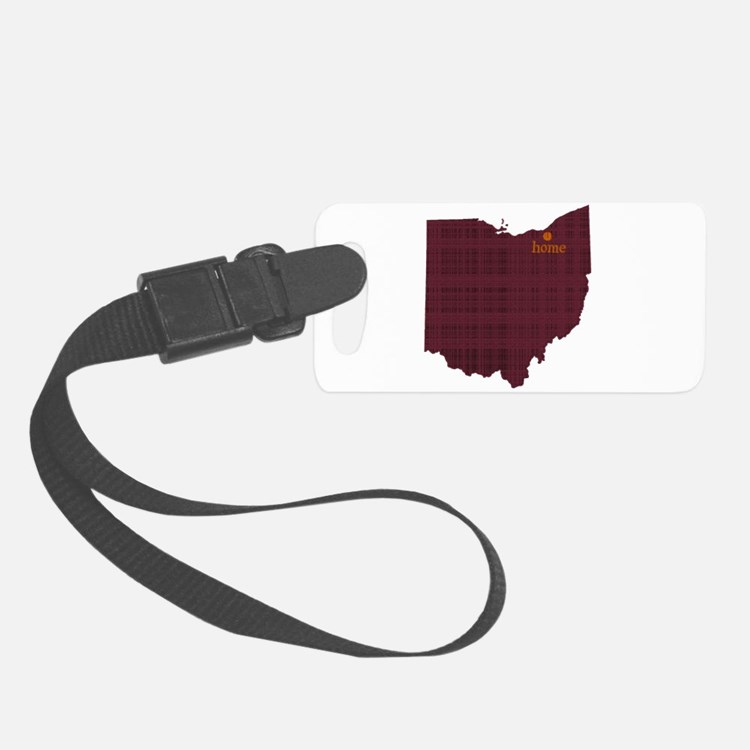 Bearded Duck Luggage Tag