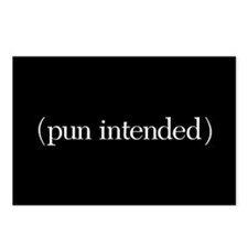 (pun intended) Postcards (Package of 8)