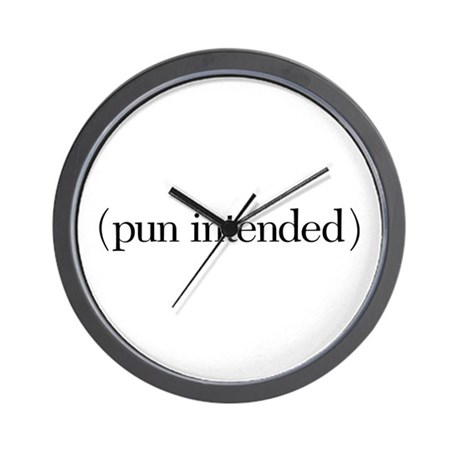(pun intended) Wall Clock