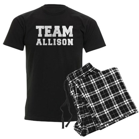 TEAM ALLISON Men's Dark Pajamas