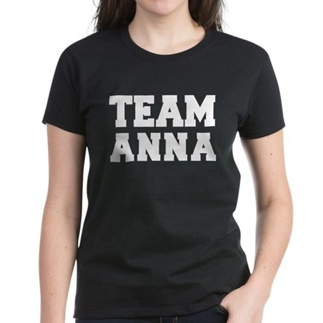 TEAM ANNA Women's Dark T-Shirt
