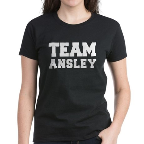 TEAM ANSLEY Women's Dark T-Shirt