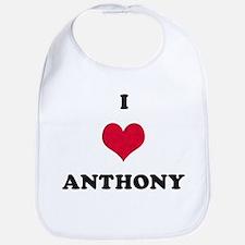 I Love Anthony Bib