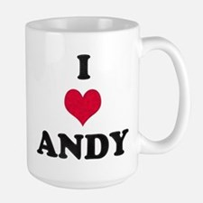 I Love Andy Mug