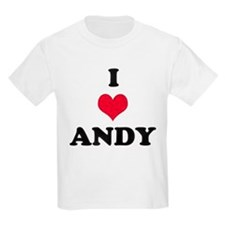 I Love Andy T-Shirt