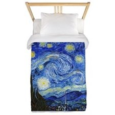 Cute Van gogh starry night Twin Duvet