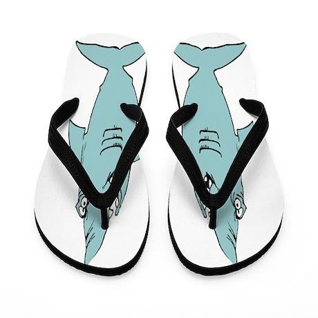 Sharks Beach Flip Flops