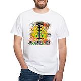 Drag racing Mens White T-shirts