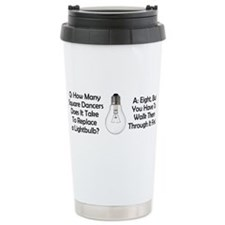 Cute Square dance Travel Mug