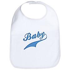 Blue Baby Swash Bib