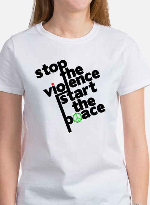 Stop Violence Bring Peace Tee