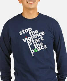 Stop Violence Bring Peace T