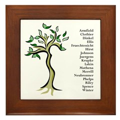 Personalized Framed Tile