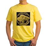 Silver Buffalo-Indian Yellow T-Shirt