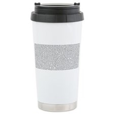 Unique Poetry Travel Mug