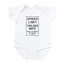 Speed Limit 1 Infant Bodysuit