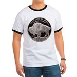 Silver Buffalo-Indian Ringer T
