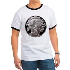 Silver Indian-Buffalo T