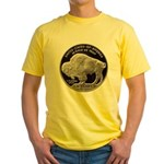 Silver Buffalo-Indian Yellow T-Shirt