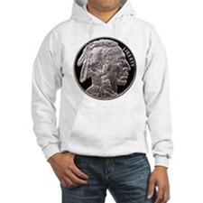 Silver Indian-Buffalo Hoodie